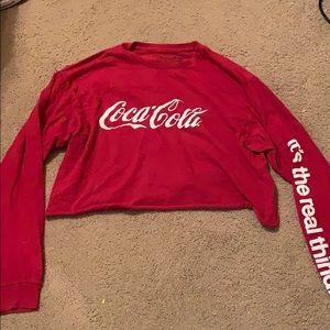 Coca Cola crop top size L